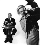 Tippi Hedren and Hitchcock